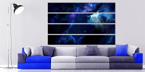 Slike na platnu svemir stampa slika na platnu