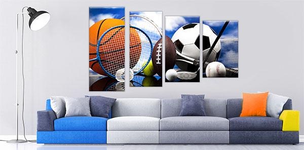 slike na kanvas platnu sportske