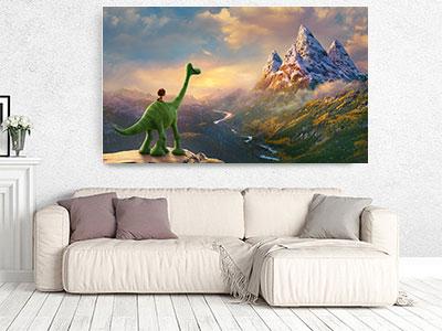 slike na platnu deciji motivi dobri dinosaurus