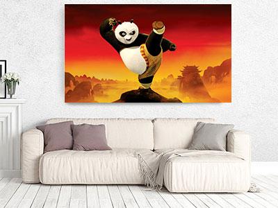slike na platnu deciji motivi kung fu panda