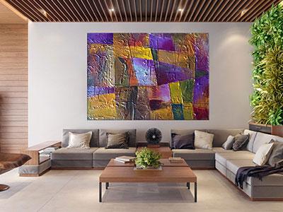 slike na platnu umetnicka dela apstraktna slika