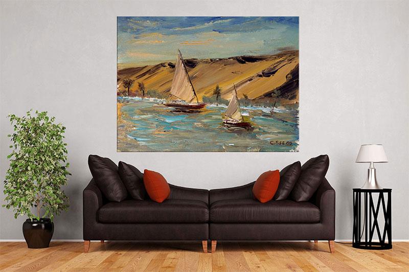 slike na platnu umetnicka dela dva brodsa