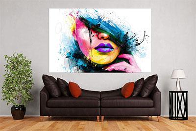 slike na platnu umetnicka dela apstraktni portret