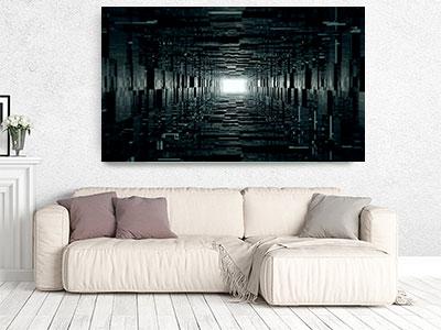 apstraktne slike na platnu