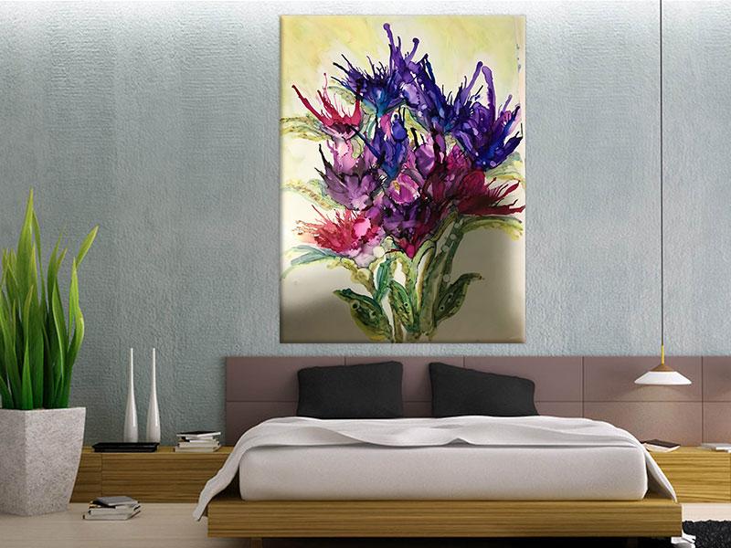 slike na platnu sa cvetnim motivima