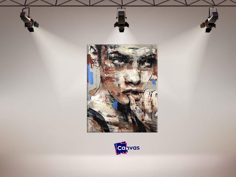 slike na platnu portret