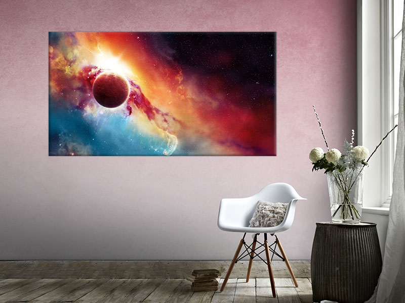 slike na platnu svemir