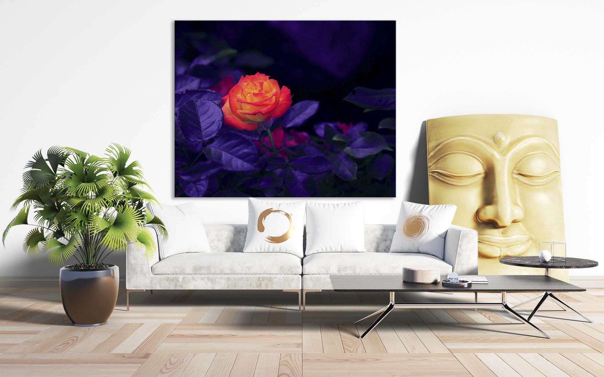 slike na platnu cveće