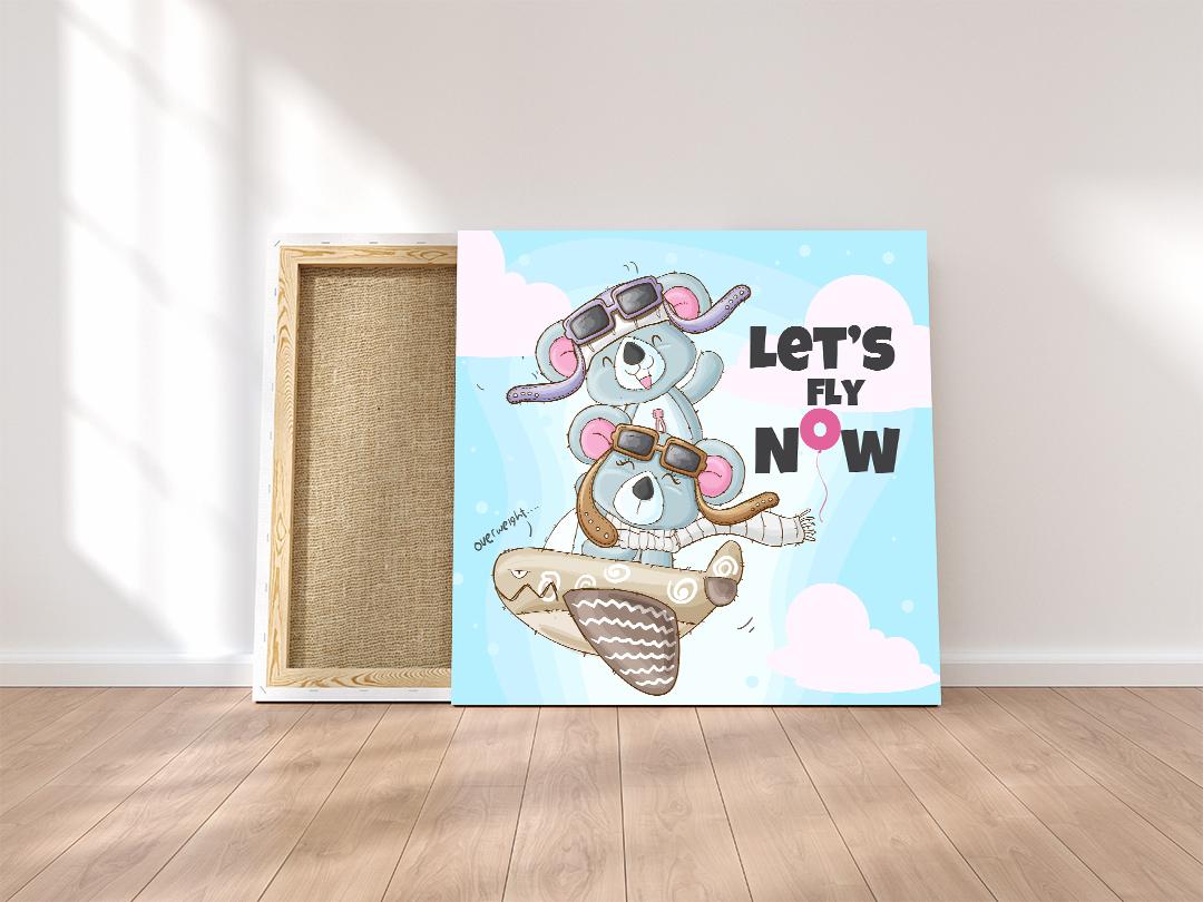 slike na kanvas platnu za deciju sobu