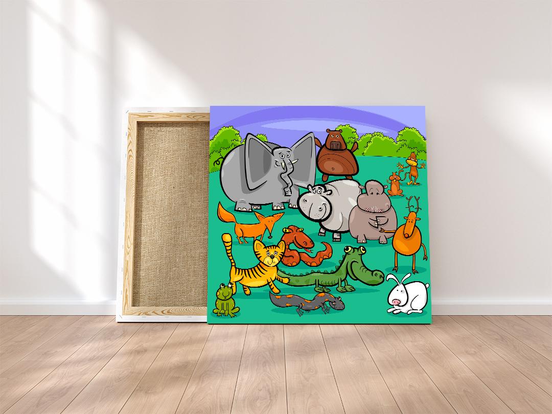 decije slike na kanvas platnu