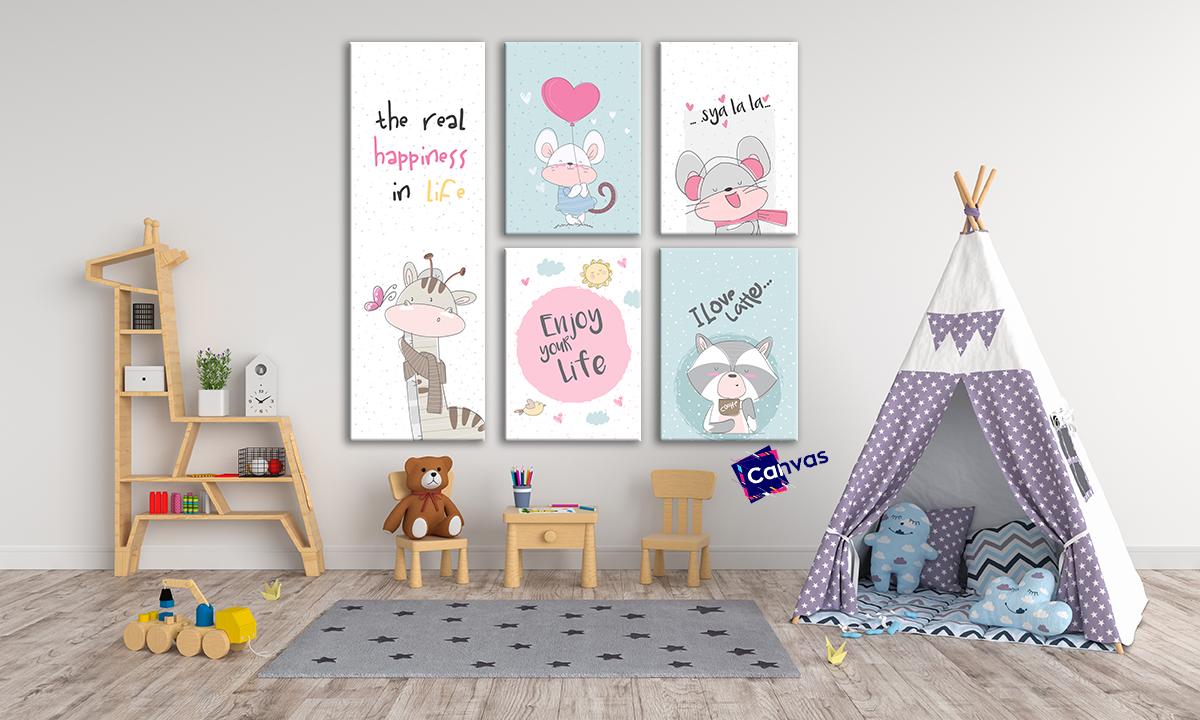 slike na platnu za deciju sobu