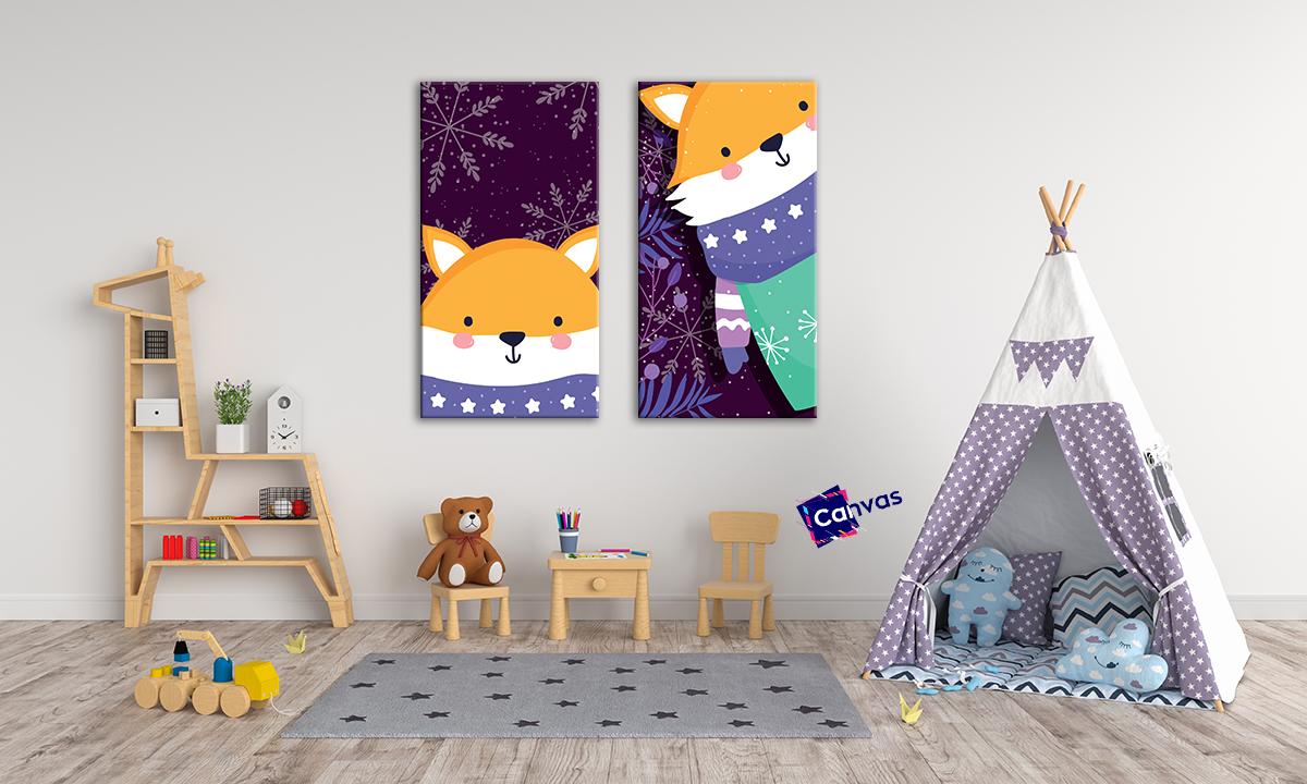 slike na platnu za decije sobe