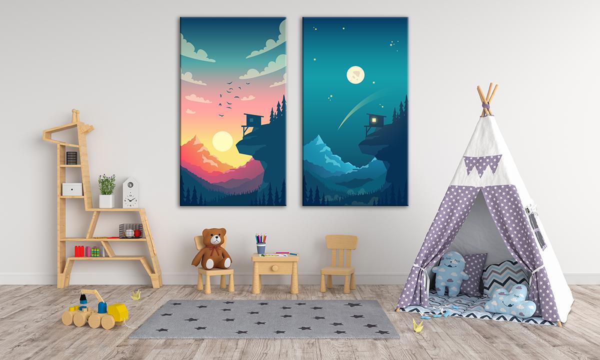 slika na platnu za deciju sobu